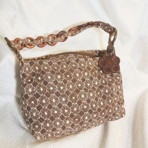 Gap fabric floral handbag